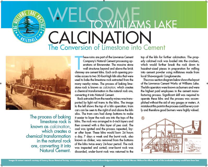williams lake map of history