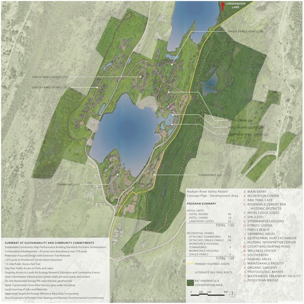 Williams Lake Map Concept Plan